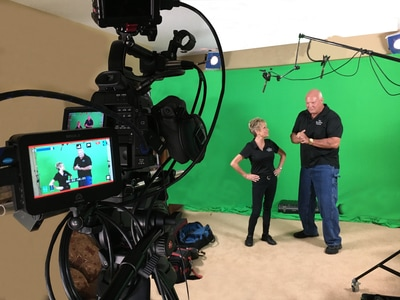 Green screen production for Breakfast Station commercial